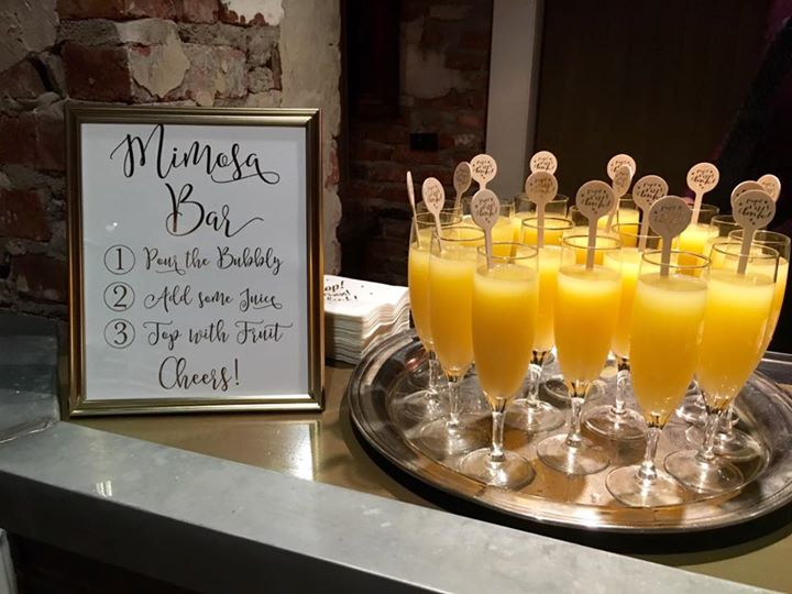 mimosa bar