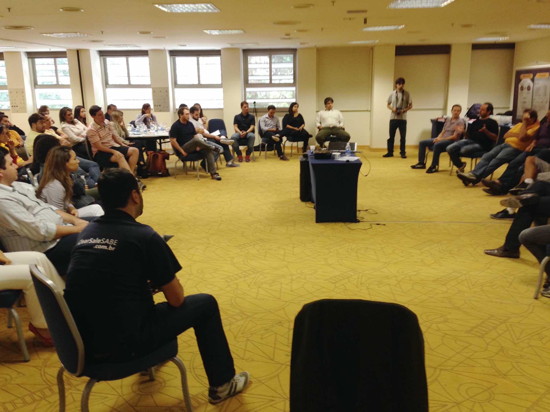 Reunião de líderes na Clearsale