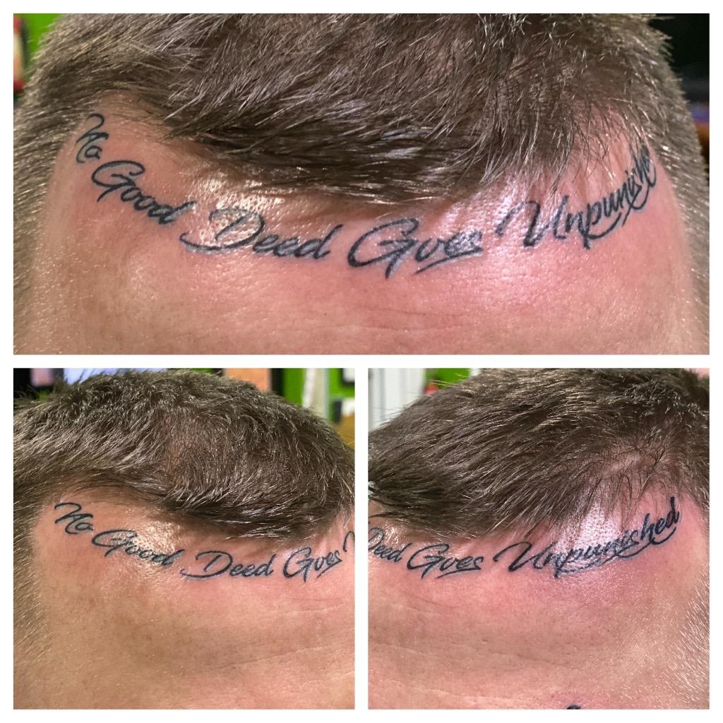 No good deed goes unpunished tattoo