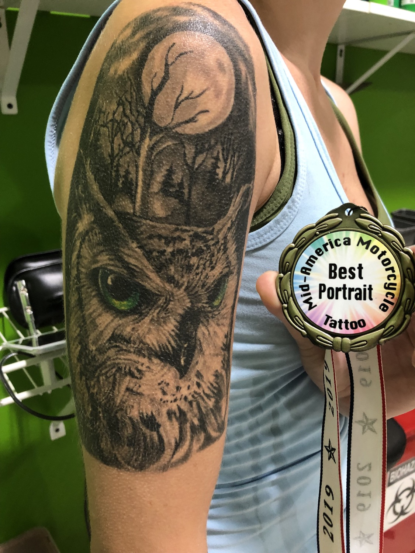 Award winning tattoo