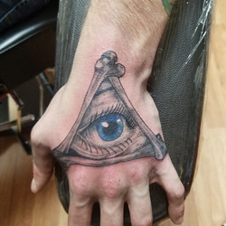 illuminati all seeing eye tattoo