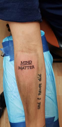 mind of matter tattoo