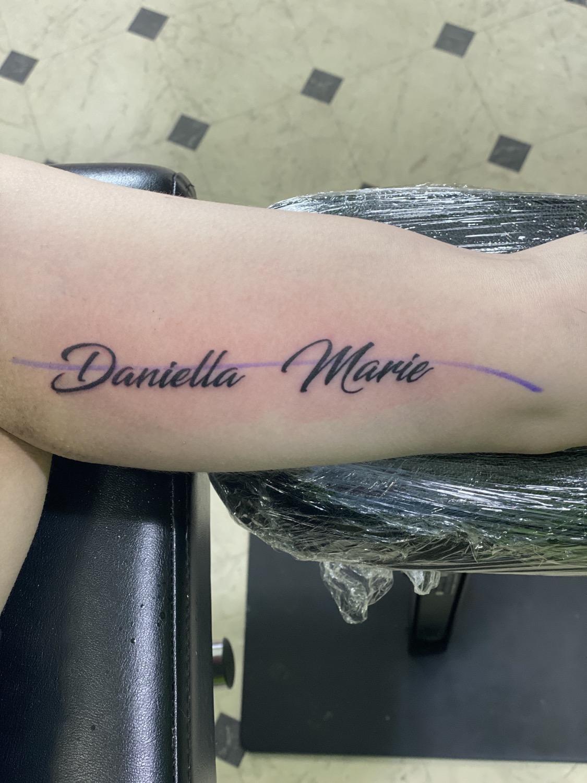 Daniella Marie tattoo