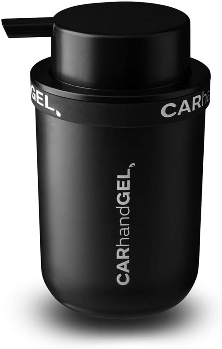 CARhandGEL Vehicle Hand Sanitizer Dispenser $45 via halmosculpture.com