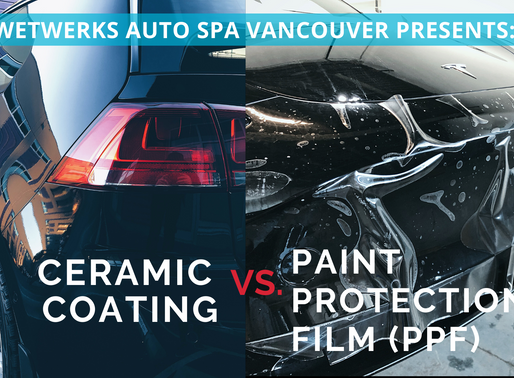 Ceramic Coating vs. Paint Protection Film (PPF)