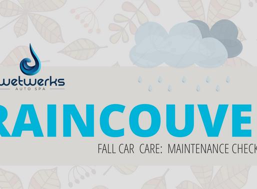 Fall Car Care: Vancouver Weather Car Maintenance Checklist