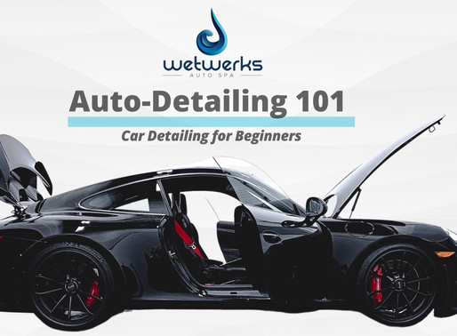 Auto Detailing 101: Car Detailing for Beginners