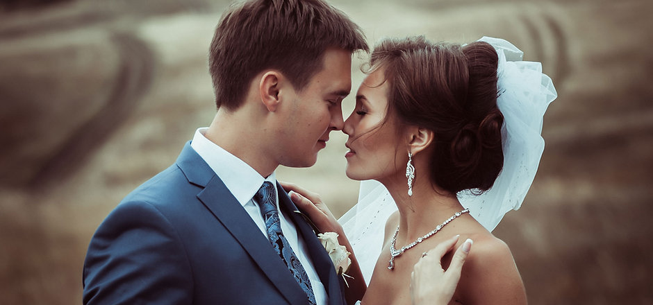 beso de la boda