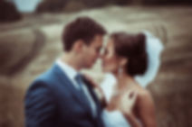Bride and Groom Kissing New Jersey Wedding Videographer
