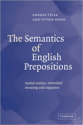 Semantics of English Prepositions
