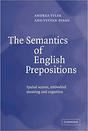 The Semantics of English Prepositions | Vyvyan Evans