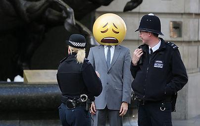 Arrest of the emoji!