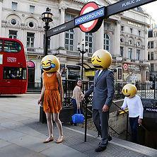 Emojis take the tube!