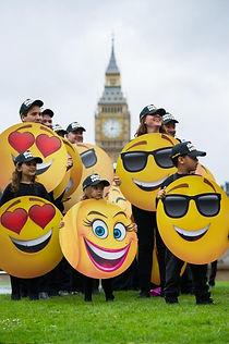Emojis in London