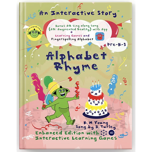 Alphabet Rhyme (Enhanced Ebook Edition) Only available through Apple link.