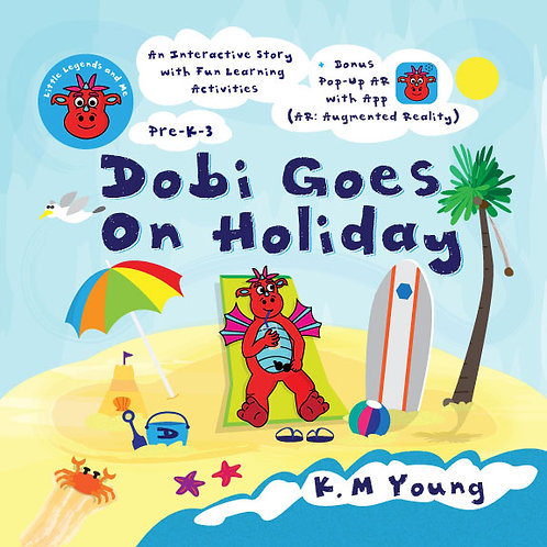 Dobi Goes On Holiday (Augmented Reality) Book with Audio