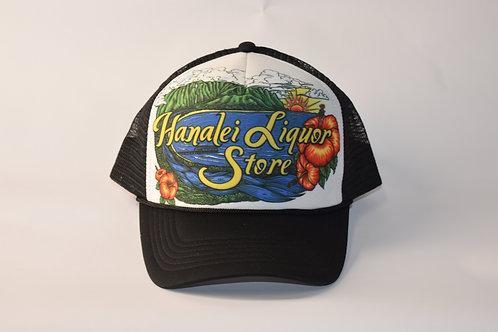 Hanalei Liquor Store Hat, trucker style,