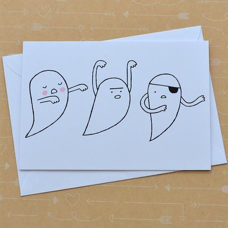 Three Ghosts