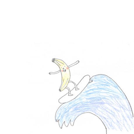 Surfing Banana