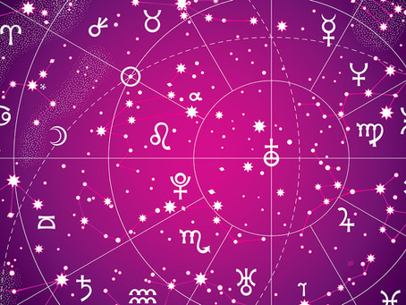 Signes du zodiaque et les couleurs de bougie associées
