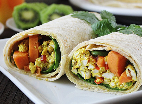 Grab and Go Breakfast Burrito
