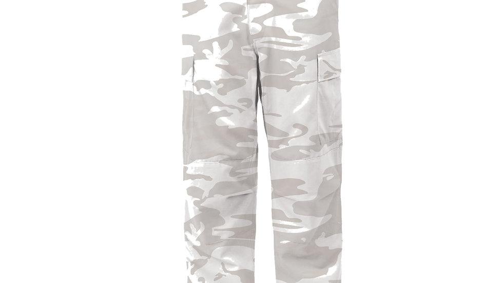 迷彩パンツ ホワイト Sサイズ