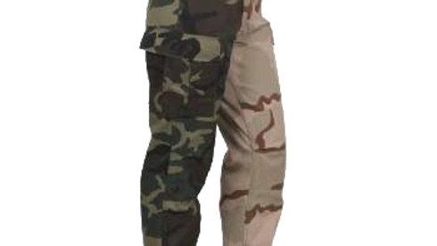 迷彩パンツ ツートン     XLサイズ