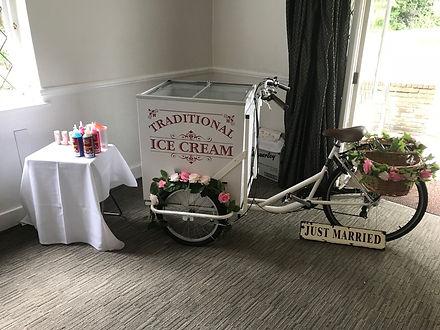ice cream bike hire London, ice cream bi