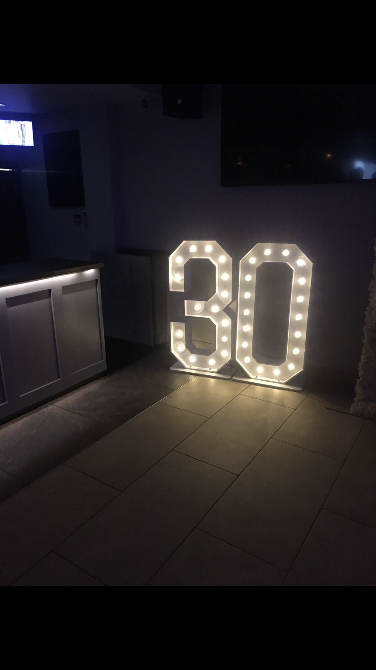 led letter hire london