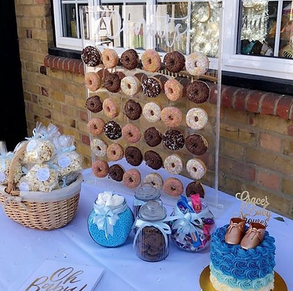donut wall hire