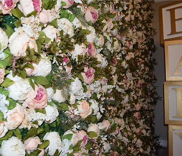 floral numbers or hire