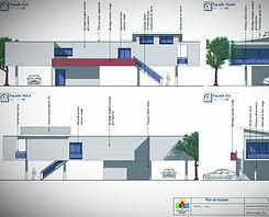Dossier pour instruction avec ABC Archimédia Bati Concept construction de maison Biscarrosse