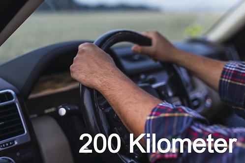 Fahrzeug - Überführung EIGENACHSE (bis 200km)