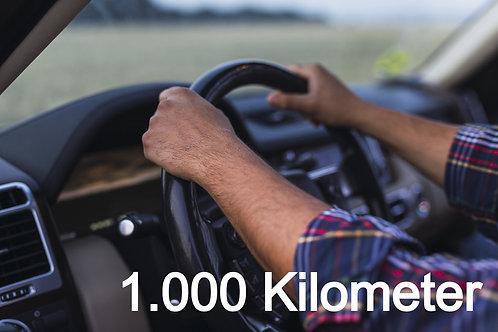 Fahrzeug - Überführung EIGENACHSE (bis 1.000km)