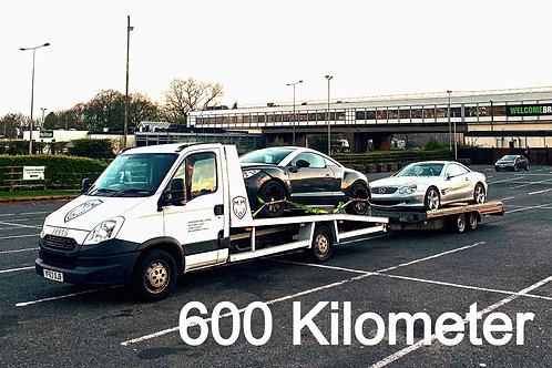 Fahrzeug - Überführung FREMDACHSE (bis 600km)