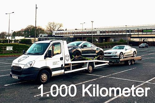 Fahrzeug - Überführung FREMDACHSE (bis 1.000km)