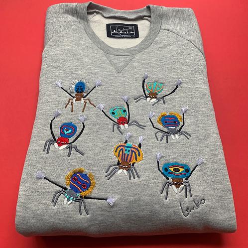 Animal Sweater - Peacock Spider