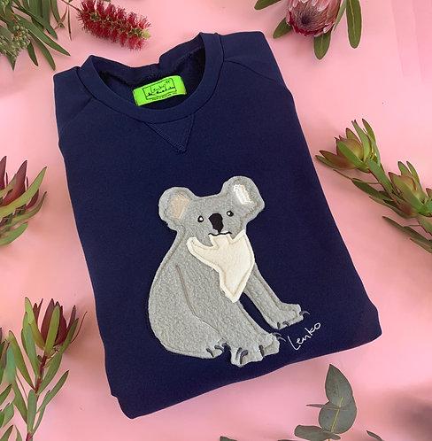 Animal Sweater-Koala