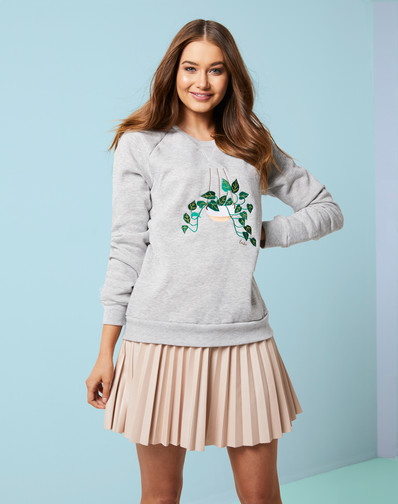 Welcome New Plant Sweater- Devil's Ivy!