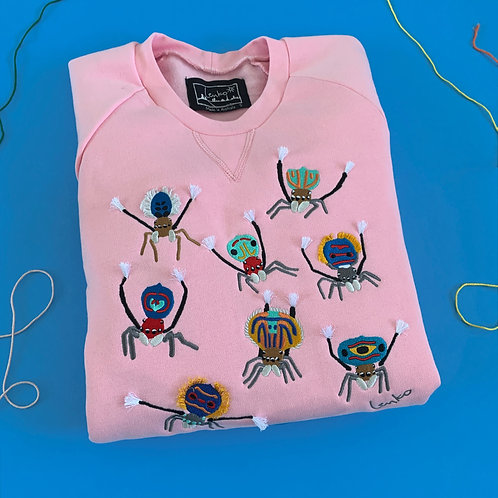 2nd Pre-Sale Animal Sweater - Peacock Spider