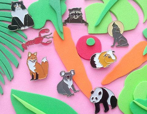 Lucky Dip Animal Pin Fundraiser