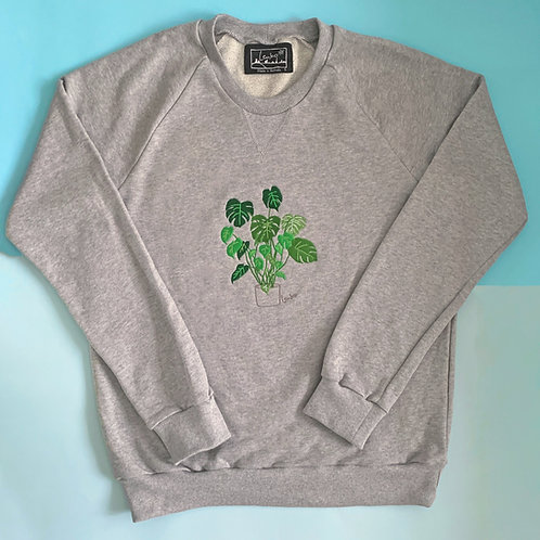 Plant Sweater- Monstera