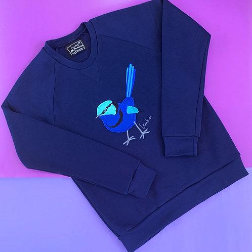 Animal Sweater- Splendid Fairywren