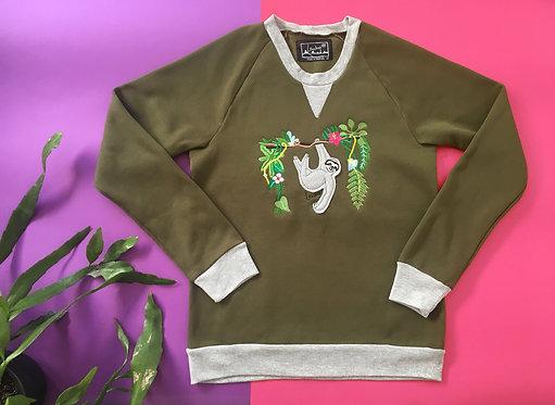 Animal Sweater- Deluxe Sloth