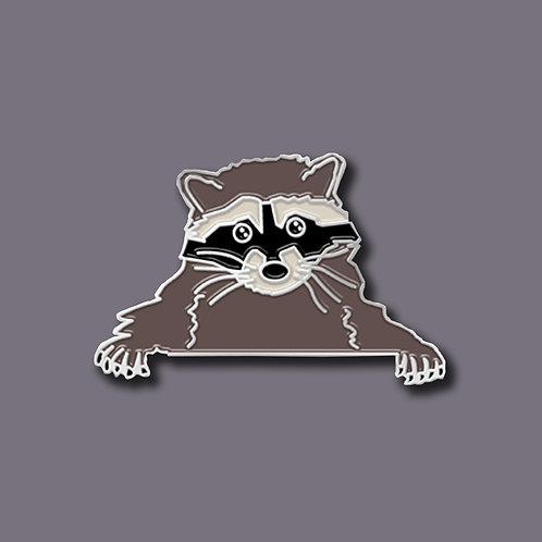 Animal Pin- Raccoon