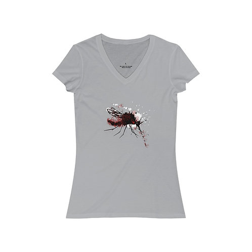 Red Mosquito V-Neck Tee
