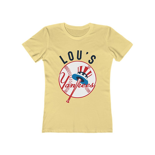 Lou's Yankees ALT - Boyfriend Tee