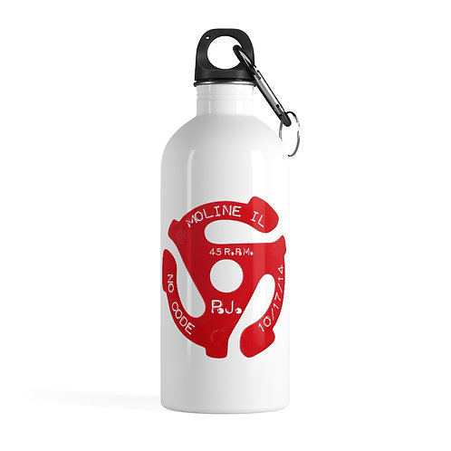 No Code Moline Stainless Steel Water Bottle