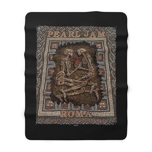 Roma '18 Sherpa Fleece Blanket
