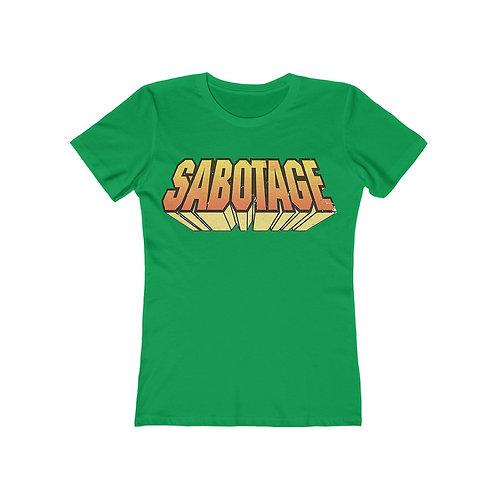 Sabotage - Boyfriend Tee